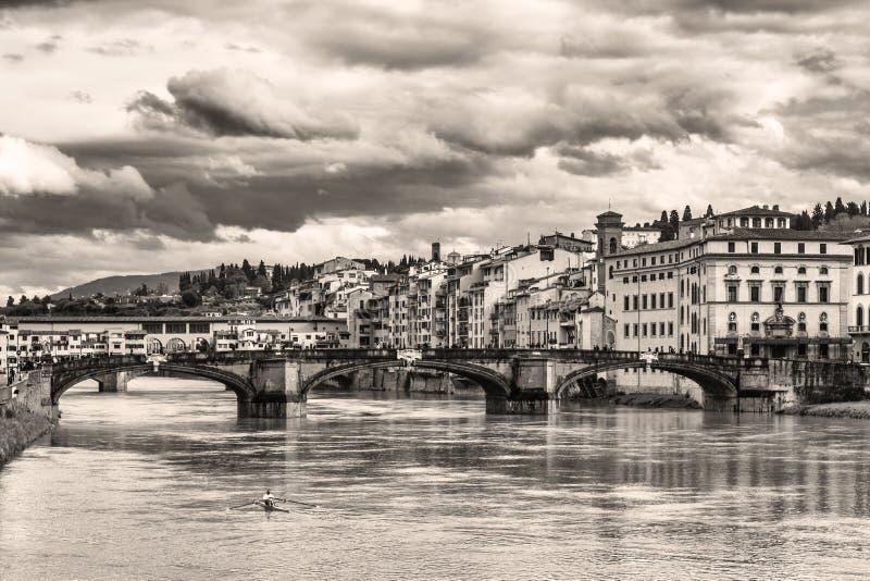 Viejo estilo de Florencia fotos de archivo libres de regalías