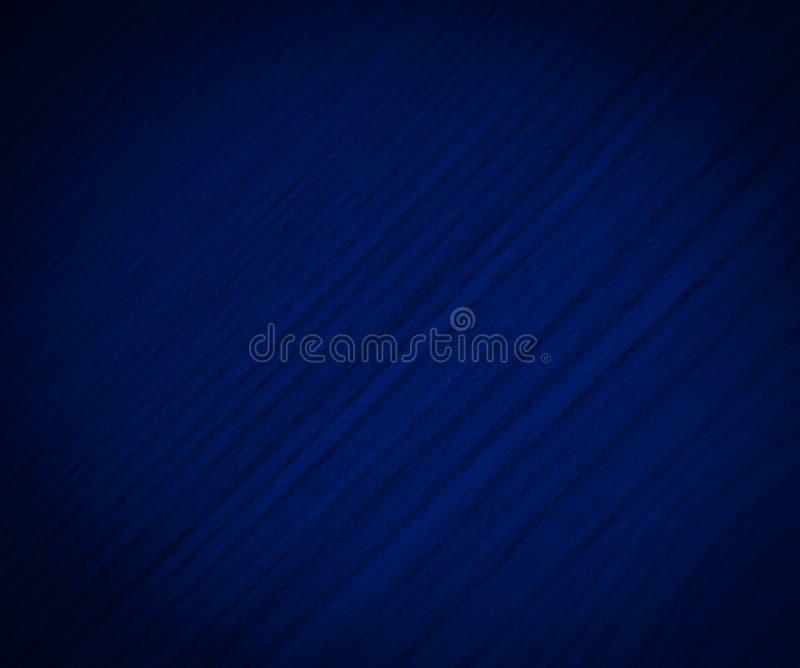 Viejo estilo de la textura abstracta de madera oscura del fondo - color azul foto de archivo libre de regalías