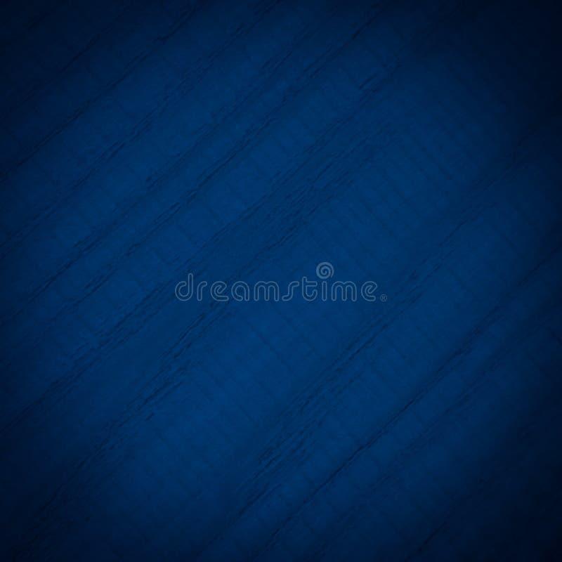 Viejo estilo de la textura abstracta de madera oscura del fondo - color azul fotografía de archivo libre de regalías