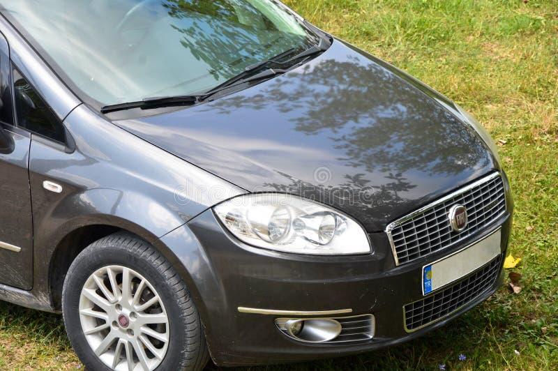 Viejo Fiat Linea modelo fotos de archivo