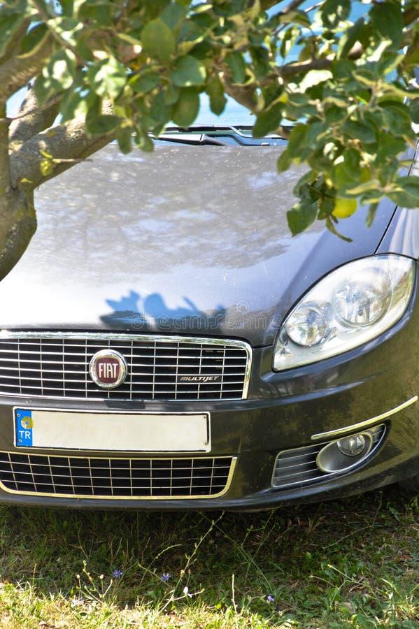 Viejo Fiat Linea modelo imagen de archivo libre de regalías