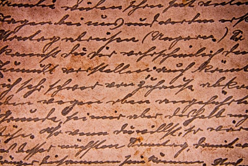 Viejo fondo de la carta imágenes de archivo libres de regalías