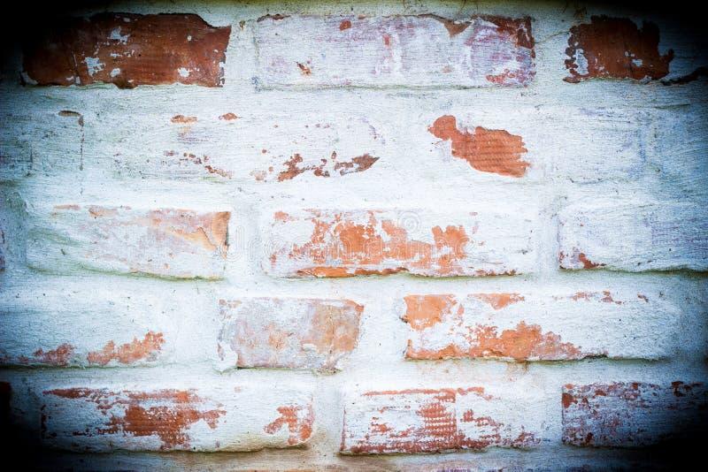 Viejo fondo de la pared de ladrillo imagenes de archivo
