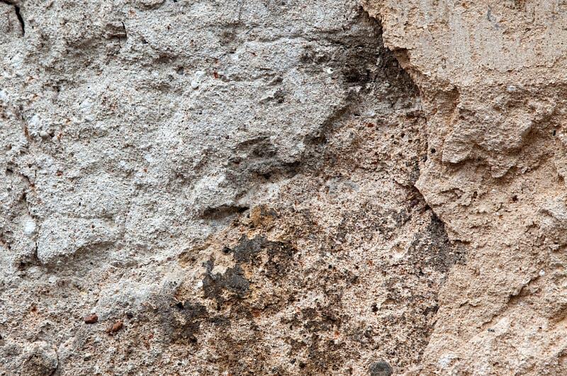 Viejo fondo de la pared del yeso imagen de archivo