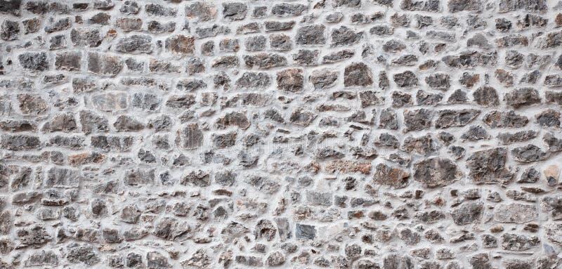 Viejo fondo de la pared de piedra fotografía de archivo