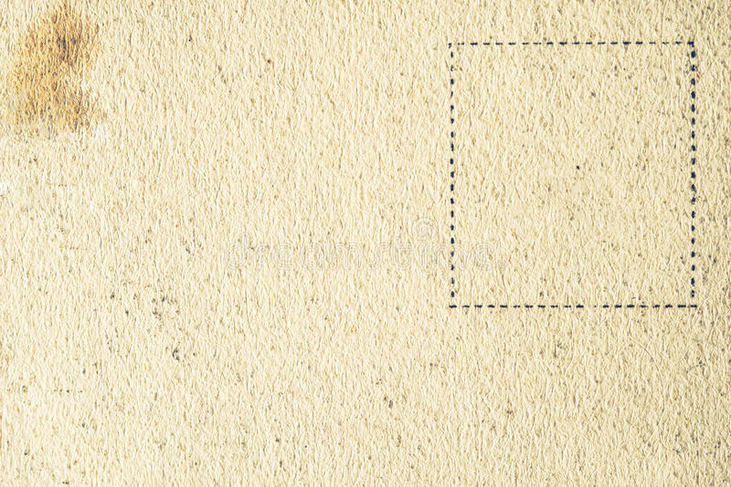 Viejo fondo de la postal horizontal fotografía de archivo libre de regalías