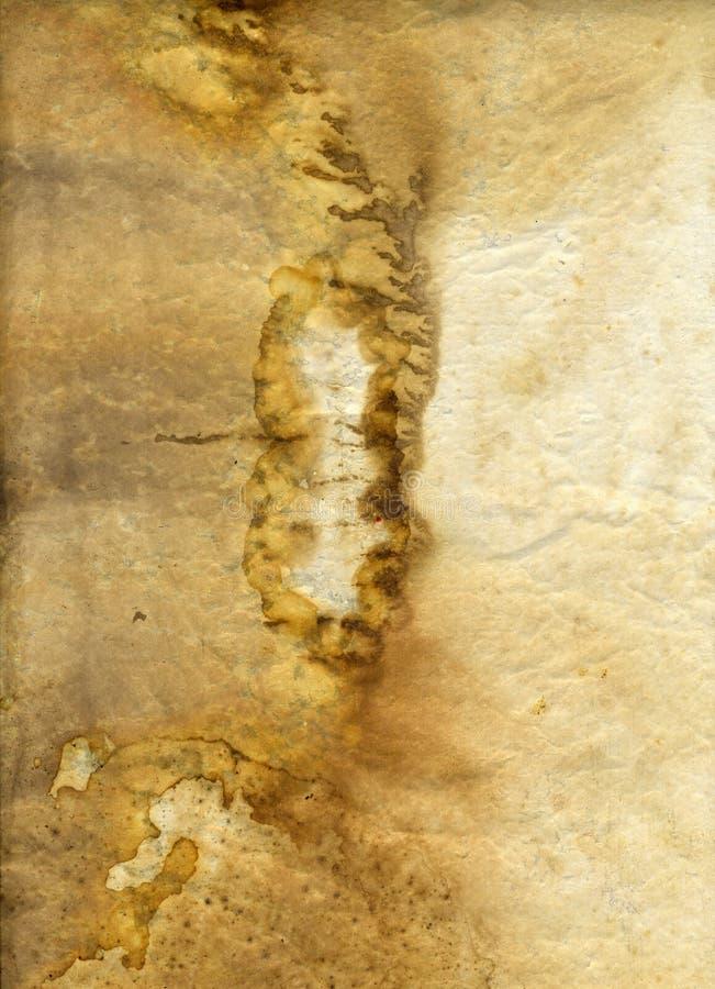 Viejo fondo de la textura de Grunge del pecho de té foto de archivo