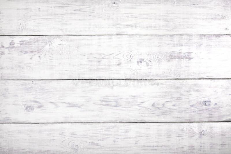 Viejo fondo de madera blanco, superficie de madera rústica con el espacio de la copia