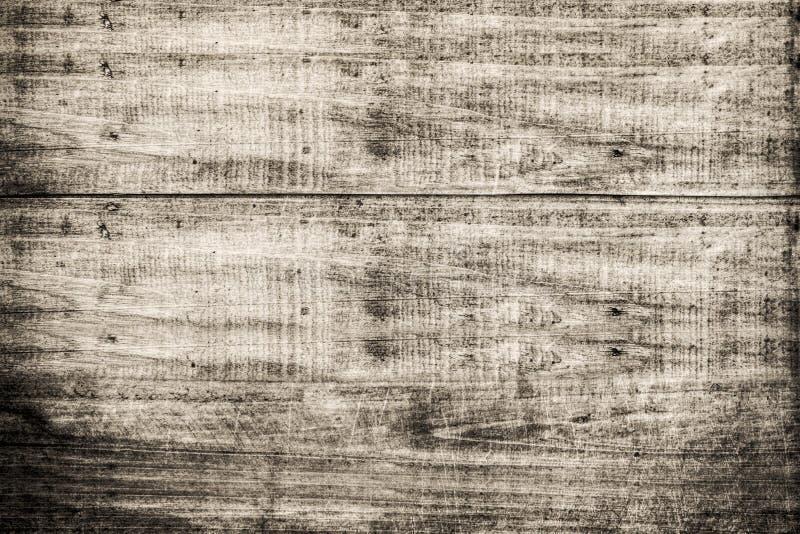 Viejo fondo de madera del grunge de la textura en color de la sepia fotos de archivo libres de regalías