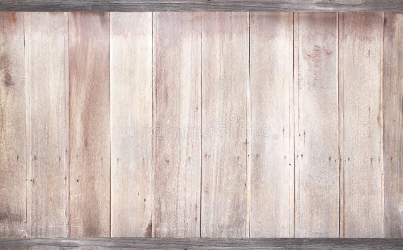 Viejo fondo de madera de la textura de la pared, extracto vertical de los modelos del grunge en blanco del tablón foto de archivo