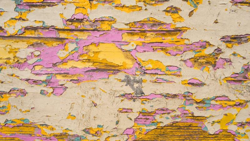 Viejo fondo de madera lamentable foto de archivo