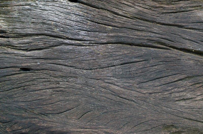 Viejo fondo de madera oscuro grande y texturizado del grunge foto de archivo libre de regalías