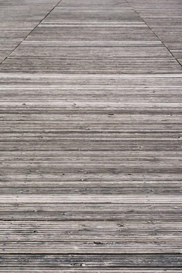 Viejo fondo de madera resistido del paseo mar?timo imagen de archivo