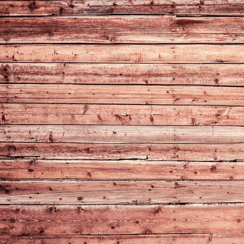 Viejo fondo de madera sucio natural de la pared con los tablones horizontales imagenes de archivo