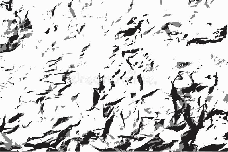 Viejo fondo de papel arrugado Grunge del vector ilustración del vector