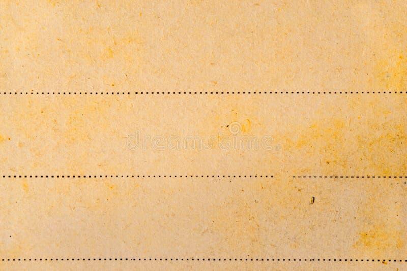Viejo fondo de papel con la línea fotos de archivo