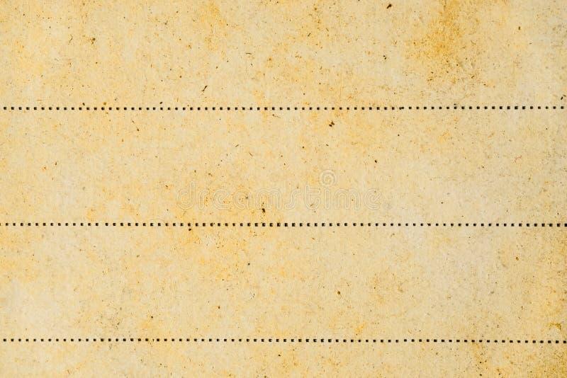 Viejo fondo de papel con la línea imagen de archivo libre de regalías