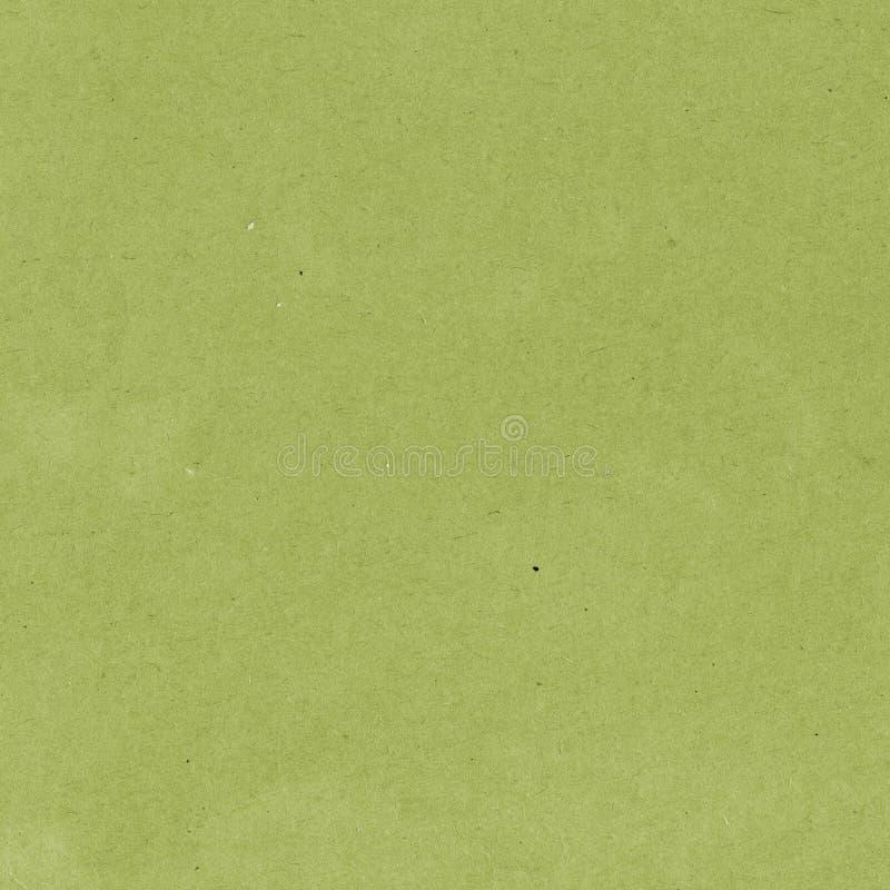 Viejo fondo de papel de la textura Cartulina del verde verde oliva imagen de archivo