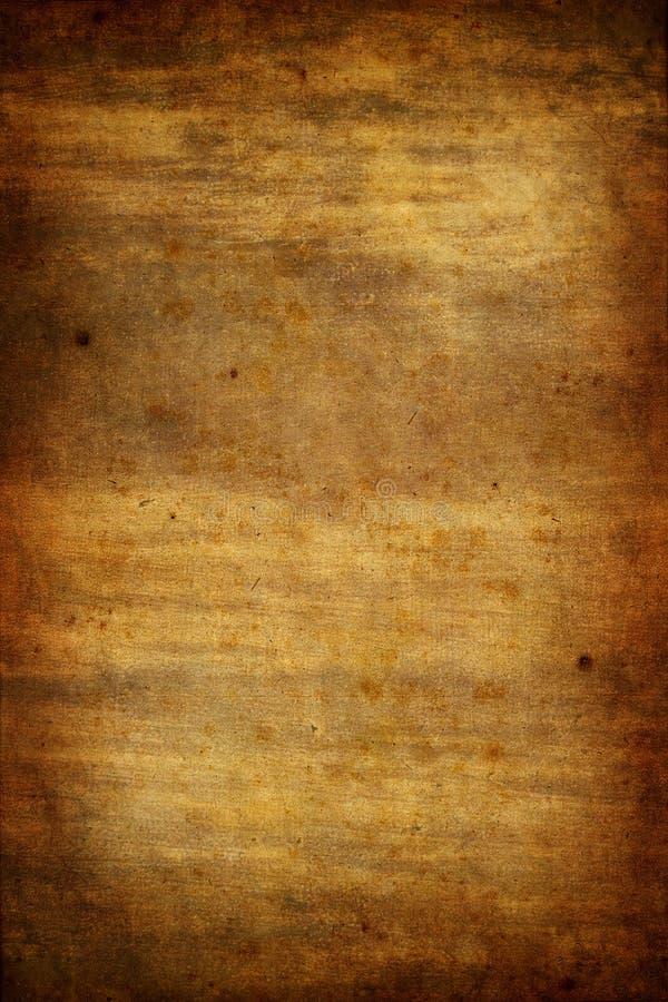 Viejo fondo de papel de la textura de Grunge stock de ilustración