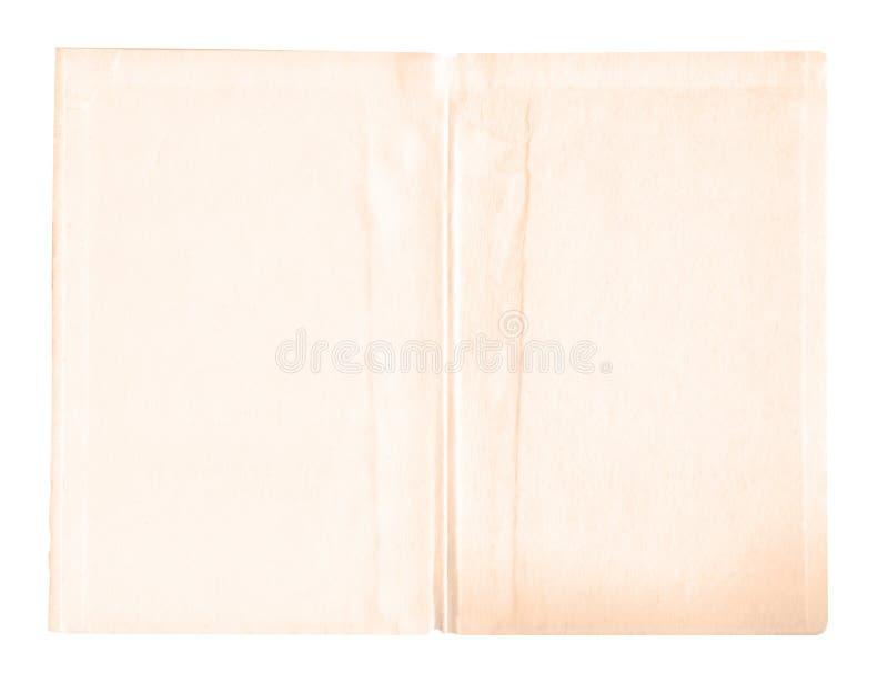 Viejo fondo de papel del vintage Vieja textura de papel aislada fotografía de archivo