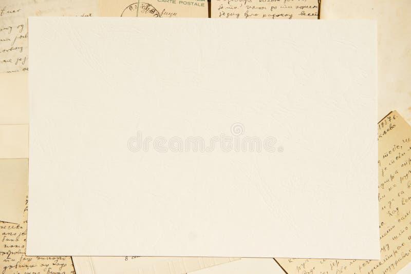 Viejo fondo de papel foto de archivo libre de regalías