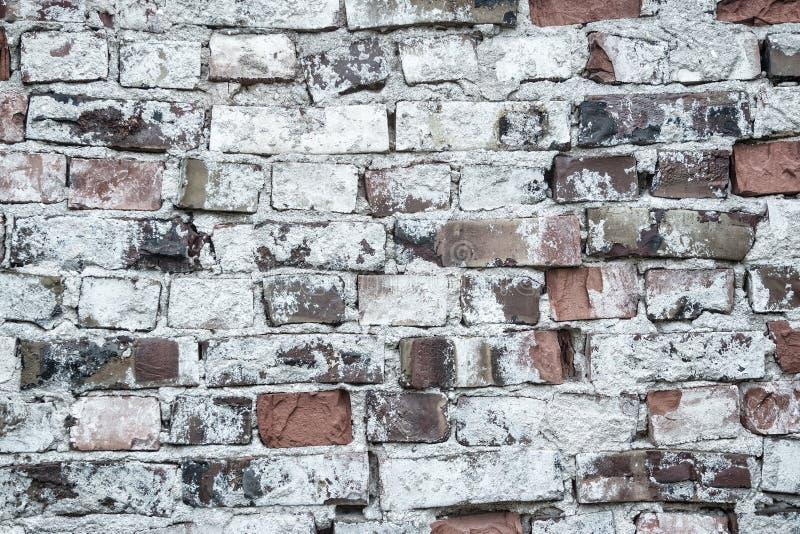 Viejo fondo del brickwall fotografía de archivo libre de regalías