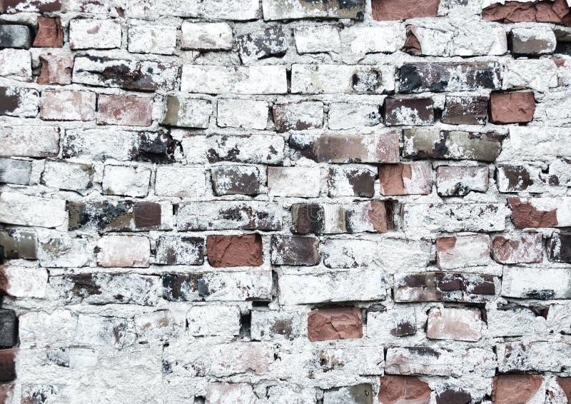 Viejo fondo del brickwall imágenes de archivo libres de regalías