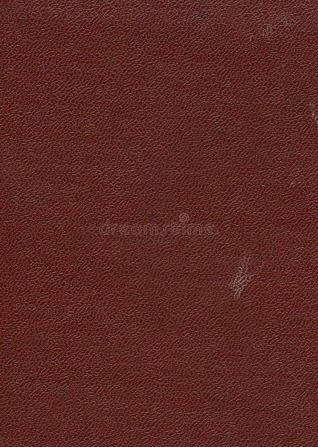 Viejo fondo marrón de cubierta de libro fotos de archivo