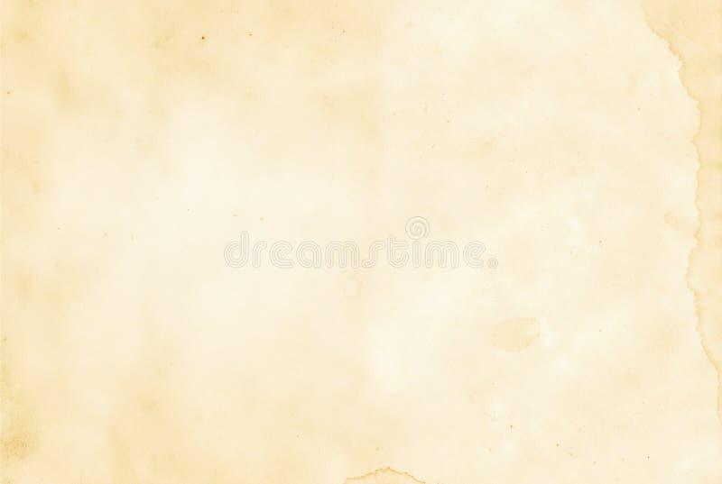 Viejo fondo o textura de papel foto de archivo libre de regalías