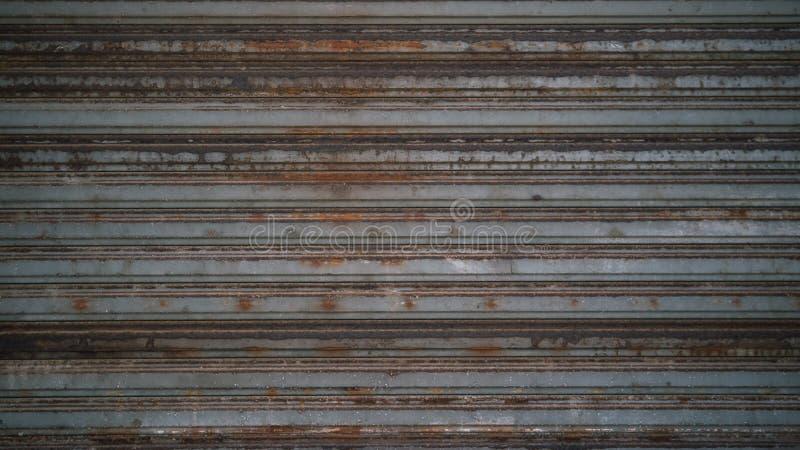 Viejo fondo oxidado de la textura del cinc fotos de archivo libres de regalías