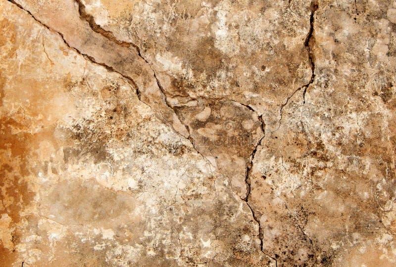 Viejo fondo roto resistido de la textura de la pared fotos de archivo libres de regalías