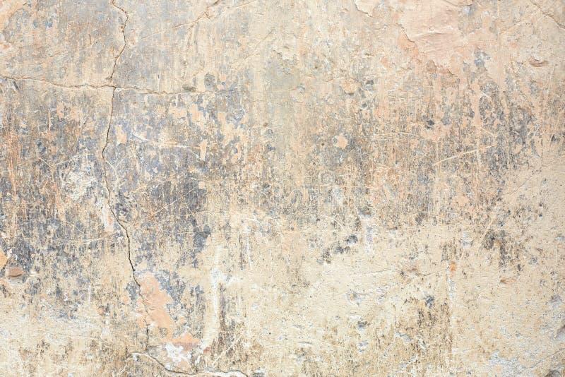 Viejo fondo saltado y descolorado de la pared en Italia fotografía de archivo libre de regalías