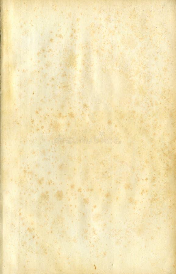 Viejo grunge, papel manchado ilustración del vector