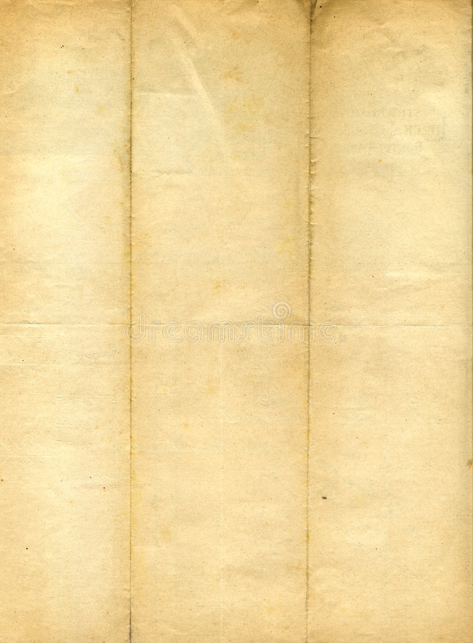 Viejo grunge, papel manchado foto de archivo