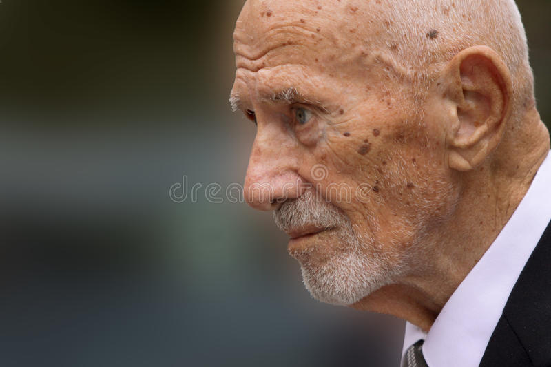 Viejo hombre imagen de archivo