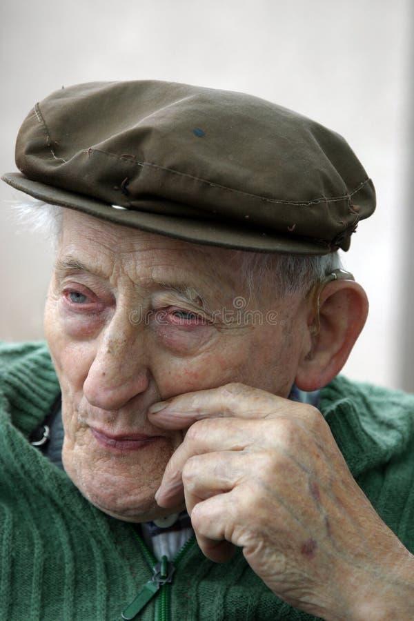 Viejo hombre fotos de archivo