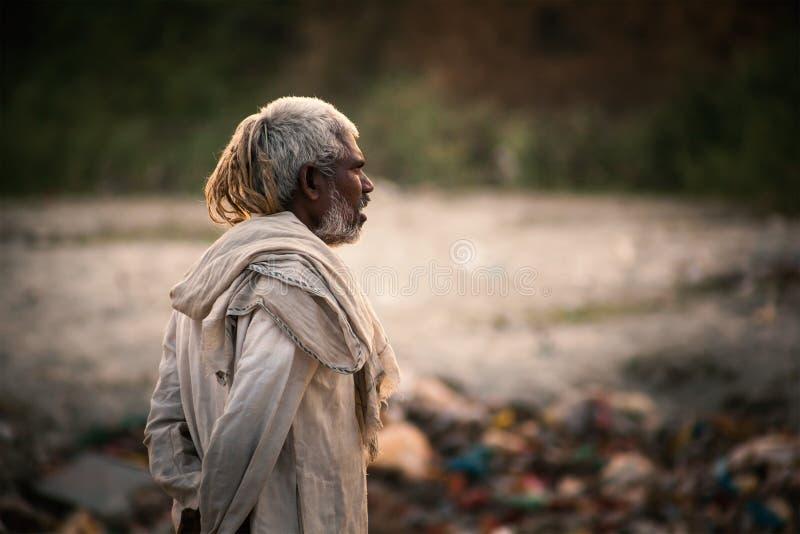 Viejo hombre indio fotos de archivo libres de regalías