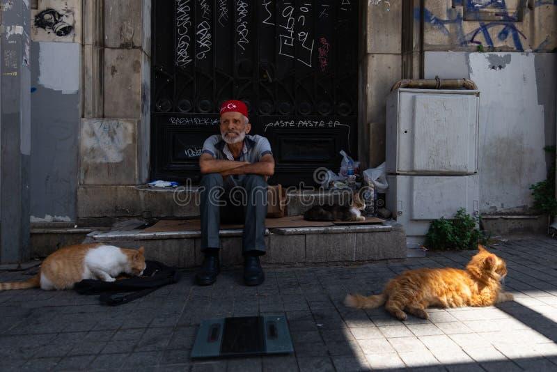 Viejo hombre turco foto de archivo libre de regalías