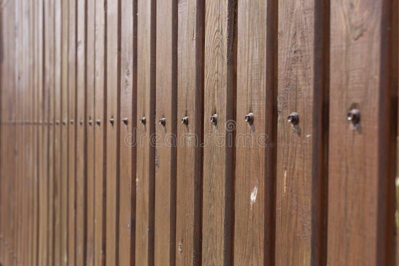 Viejo, los paneles de madera del grunge usados como fondo foto de archivo
