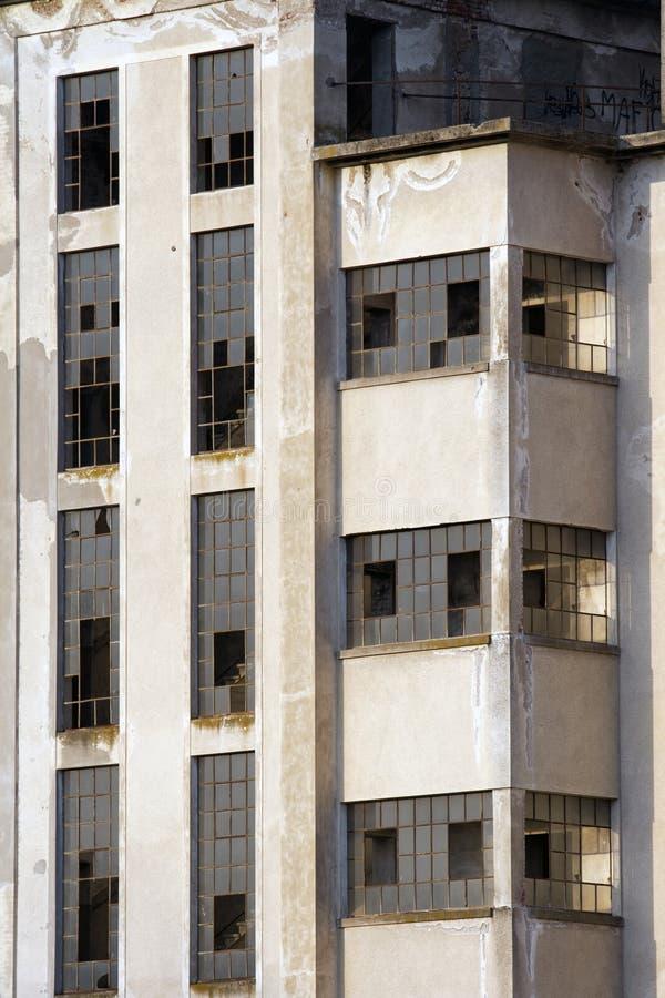 Viejo lugar industrial imagenes de archivo