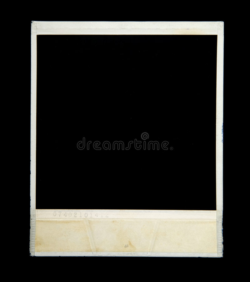 Viejo marco de la cámara foto de archivo