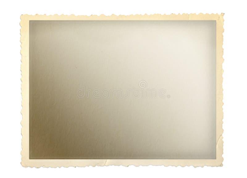 Viejo marco de la foto stock de ilustración