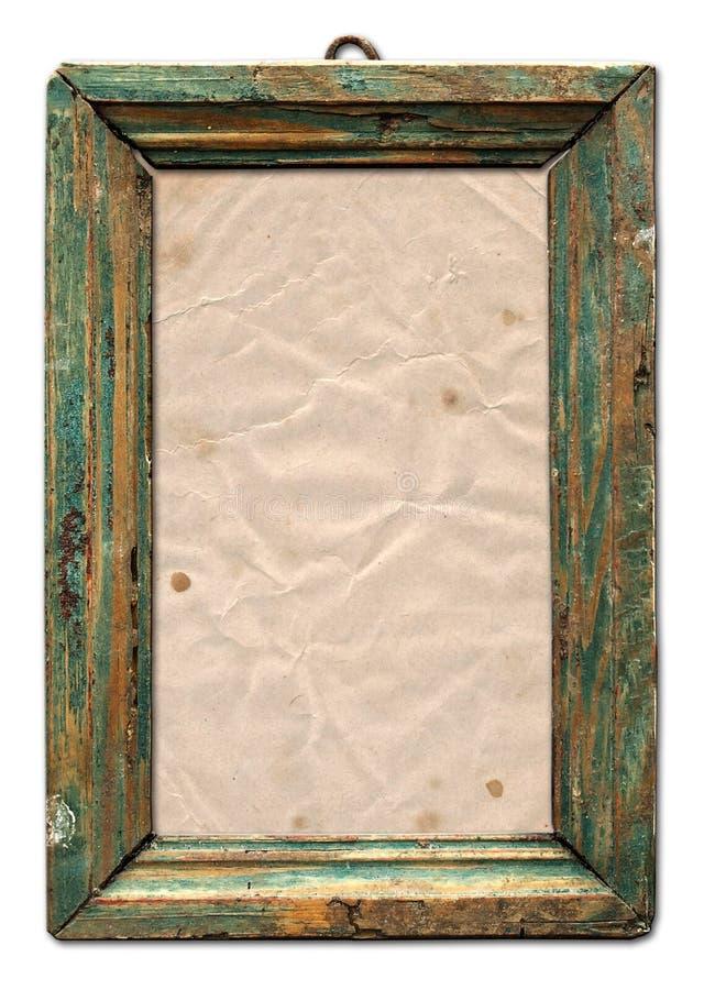 Viejo marco de madera libre illustration
