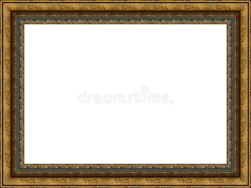 Viejo marco de madera imagen de archivo libre de regalías
