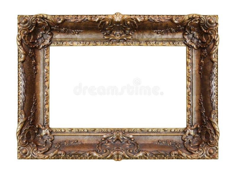 Viejo marco oxidado foto de archivo libre de regalías