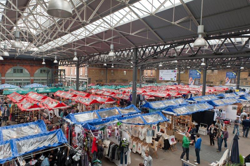 Viejo mercado de Spitalfields imágenes de archivo libres de regalías