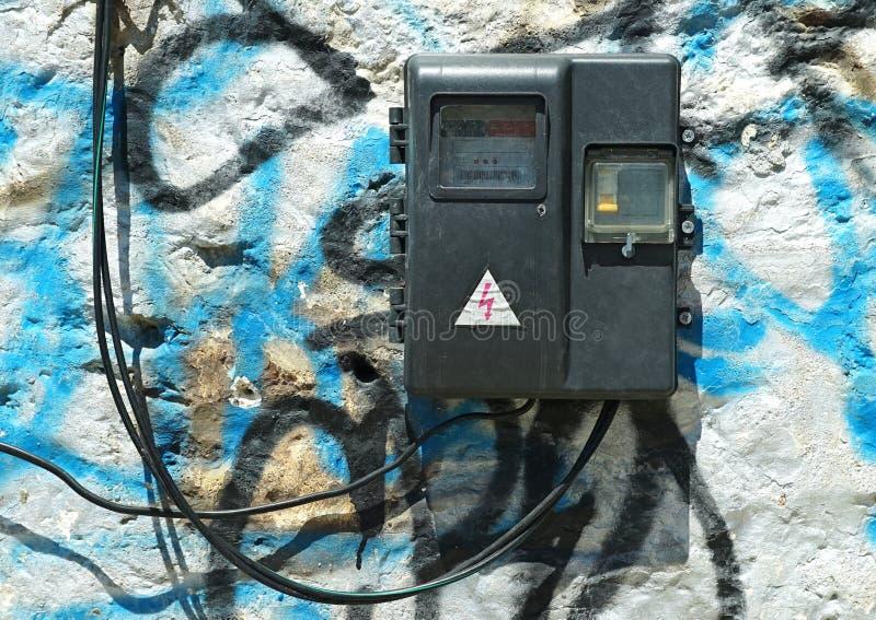Viejo metro eléctrico imagen de archivo libre de regalías