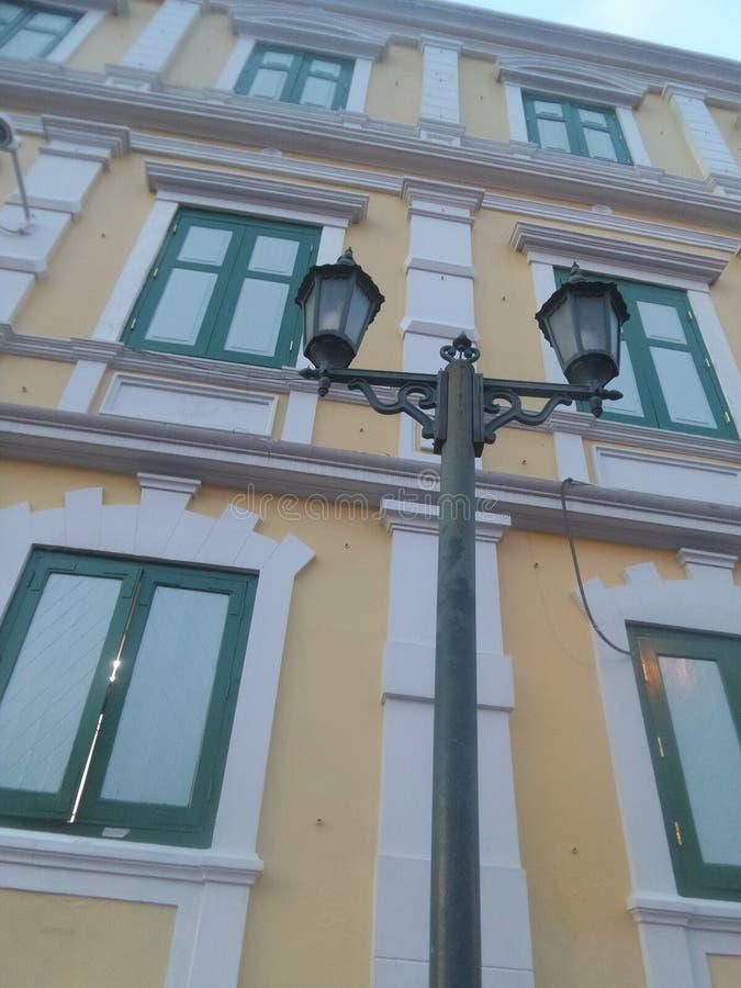 Viejo Ministerio del edificio de Defensa en Banhkok fotos de archivo libres de regalías