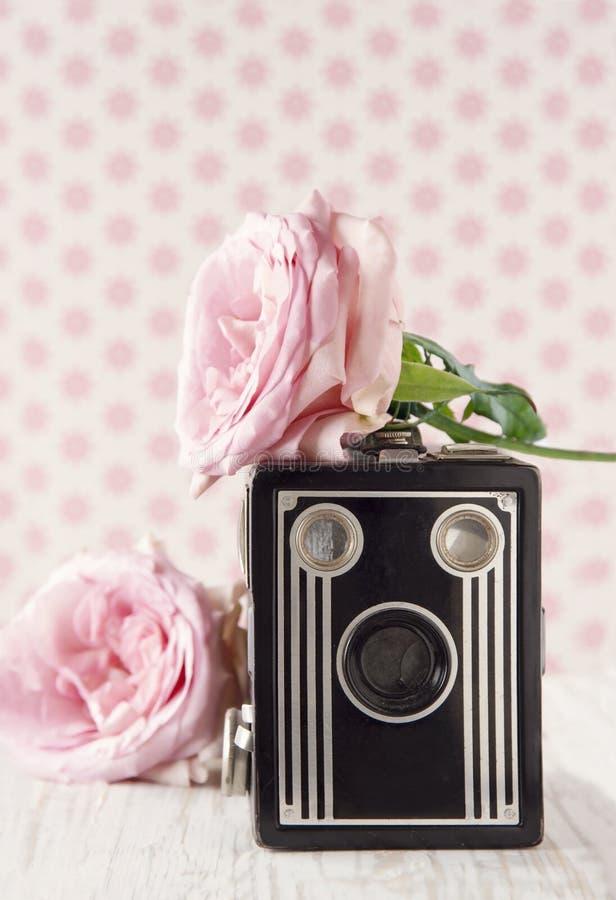 Viejo nostálgico clásico camera1 imagen de archivo