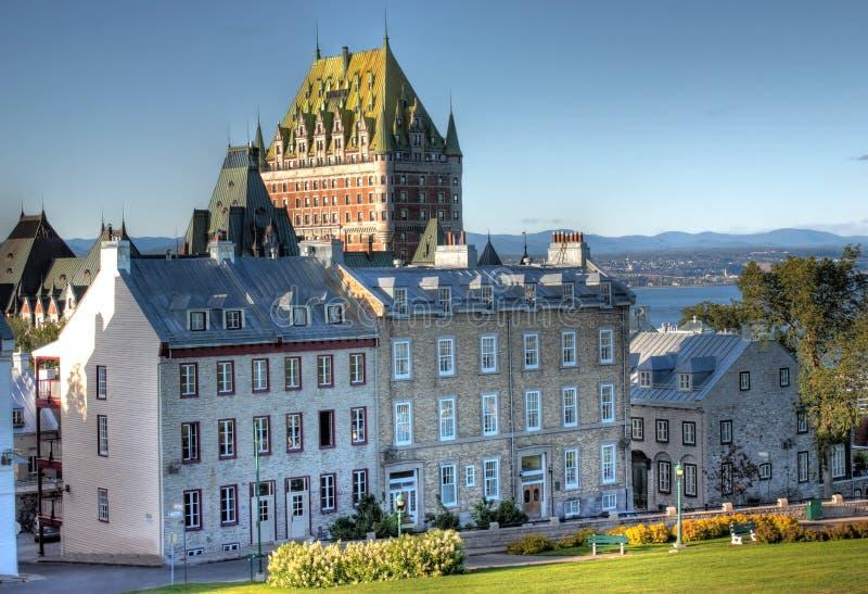 Viejo Quebec imagen de archivo